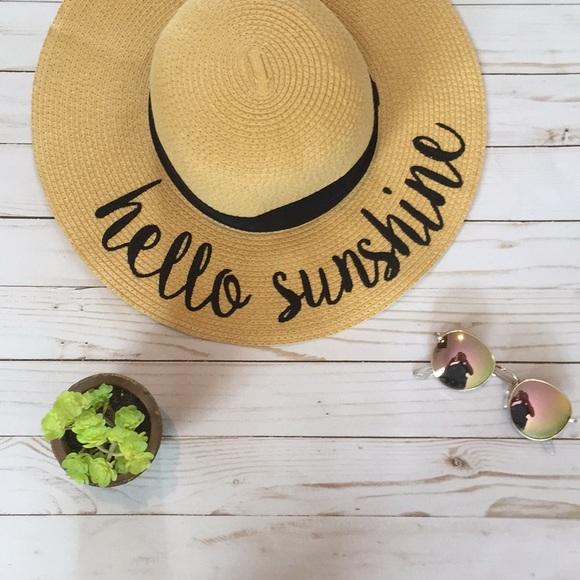 6415ce2a712 Hello sunshine sun hat